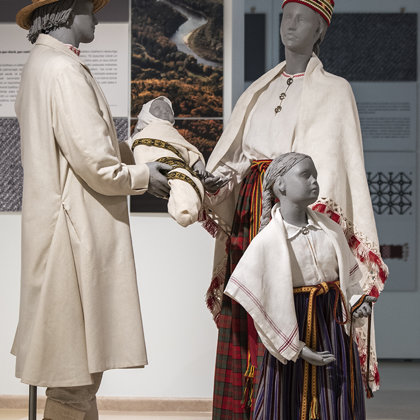 "Exhibition ""Signs of the Latvian Soul in Clothing, Music, Songs and Dances"""