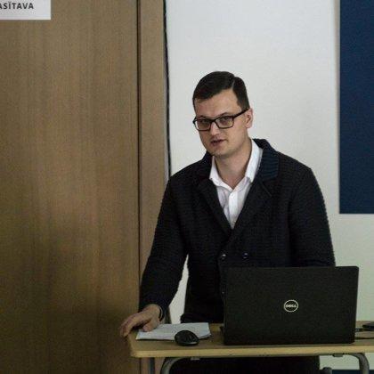 Mg.Hist. Gatis Liepiņš. Foto: V.Stāvusis