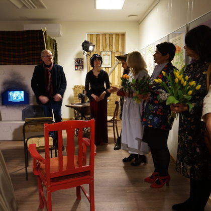 "Exhibition ""Theatre in Ogre"""
