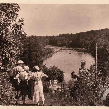Skats no Mīlestības kalna. 20. gadsimta 30. gadi