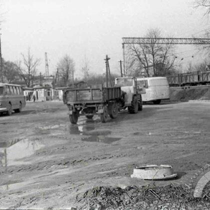 Ogres autoosta. 20. gs. 70. gadi