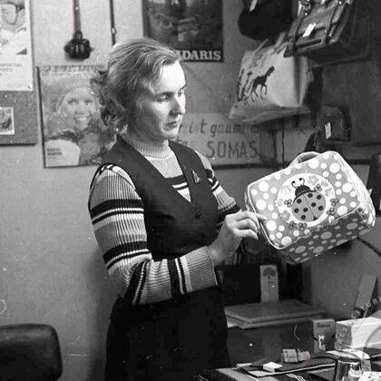 Lidija Ērgle ar jaunajām somām