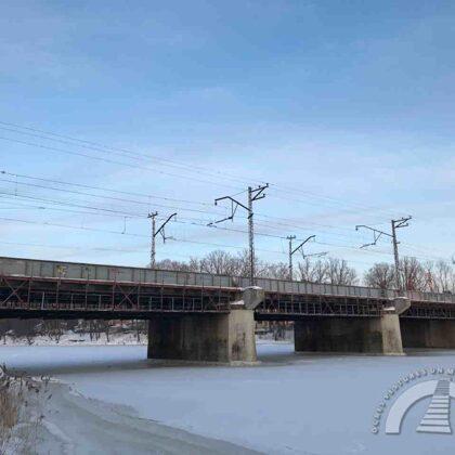 Dzelzceļa tilts, 2021. gads