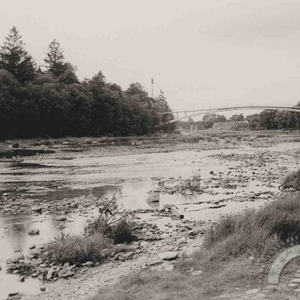 Gājēju tilts pār Ogres upi, 20. gs. 60. gadu beigas