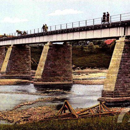 Senais šosejas tilts 20. gs. sākumā
