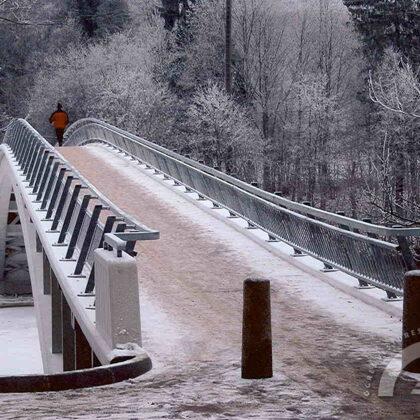 Gājēju tilts, 2007. gads
