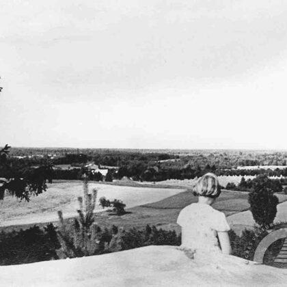 Skats no Ķentes kalna. 20. gadsimta 30. gadi